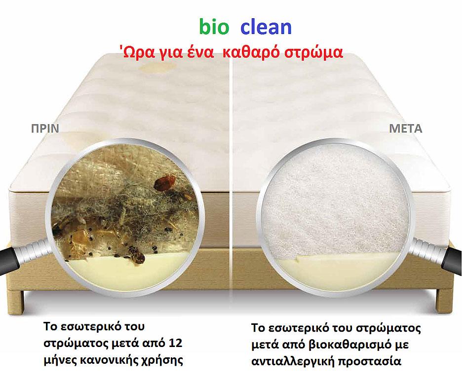 καθαρισμός στρωμάτων